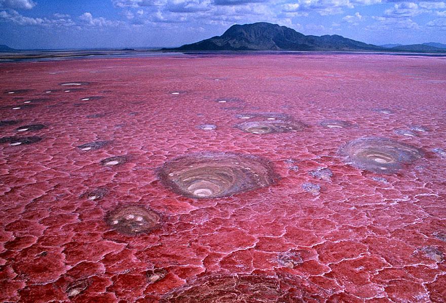 30 lieux incroyables sur Terre qui semblent provenir d'une autre planète