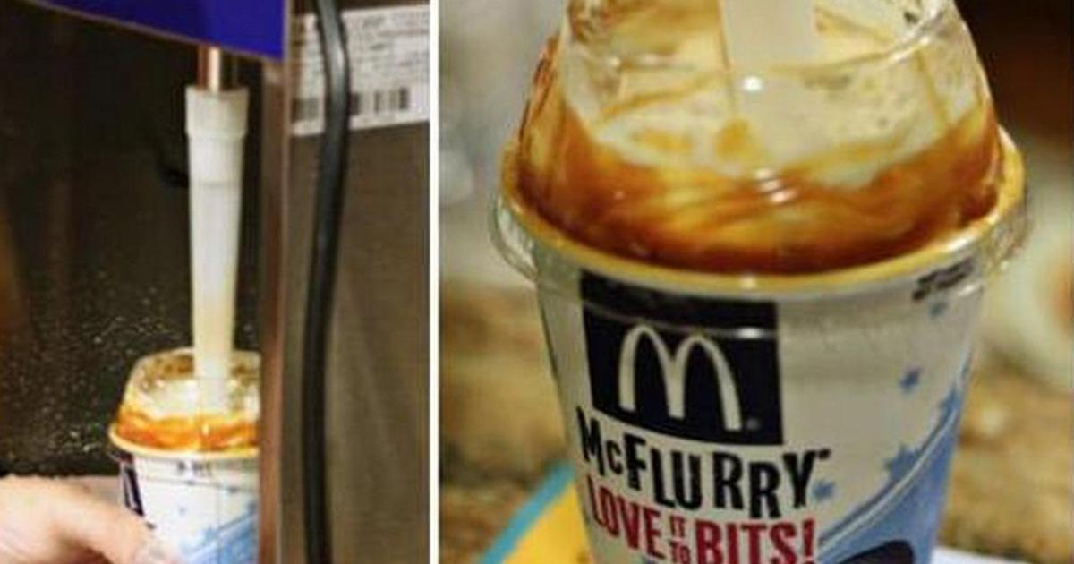 Voici pourquoi la cuillère du McFlurry est faite ainsi