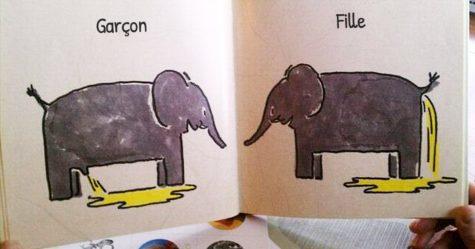 25 images trouvées dans des livres pour enfants qui soulèvent une tonne de questions