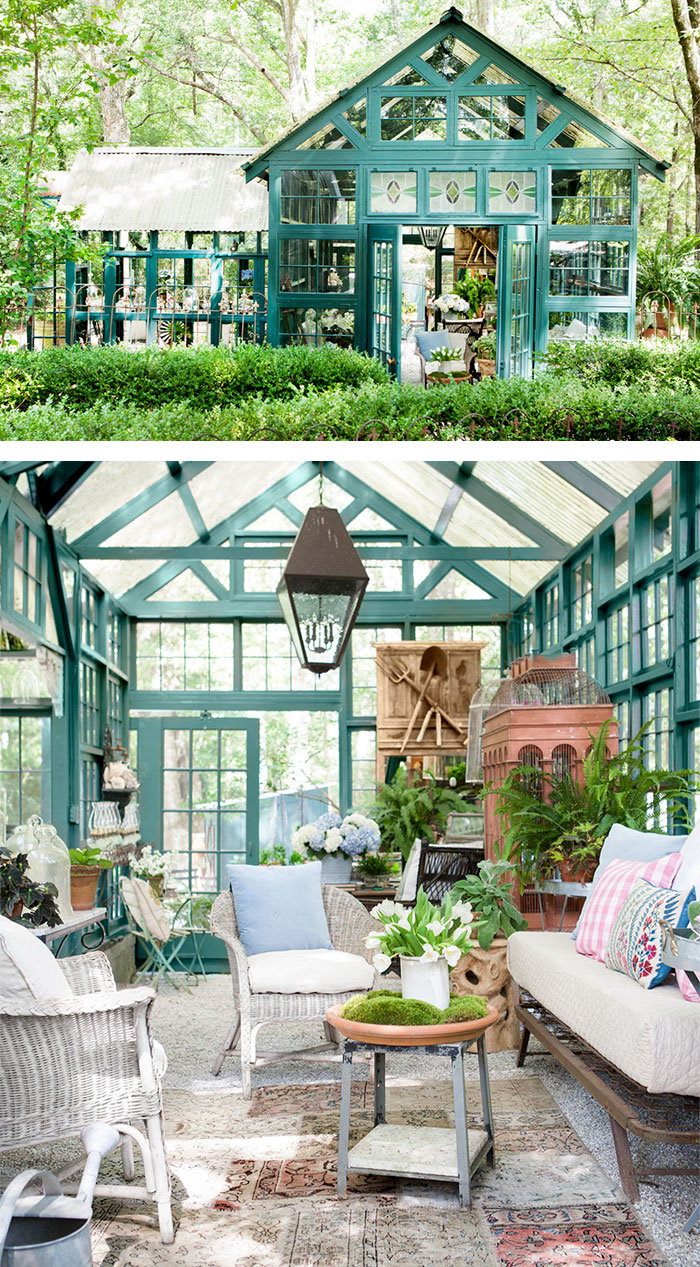 Greenhouse Decorating Ideas