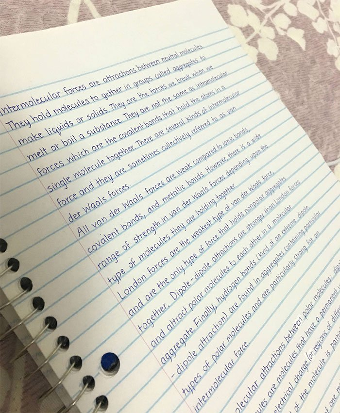 30 exemples d'écriture parfaite qui vont faire jouir vos yeux