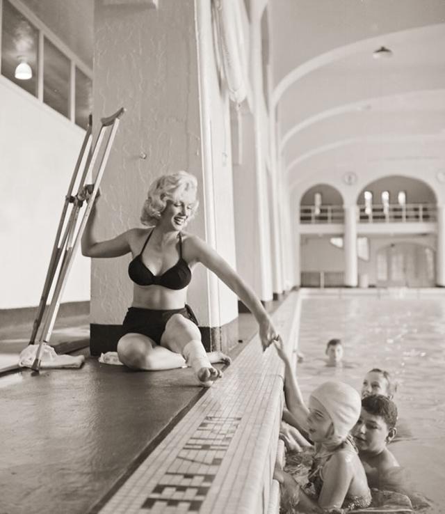De rares photos en noir et blanc de Marilyn Monroe