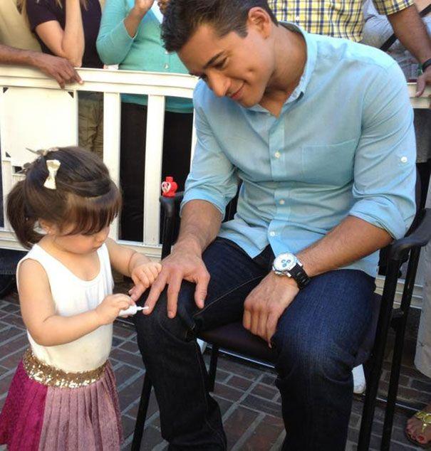 22 papas qui ont été embellis par leurs filles