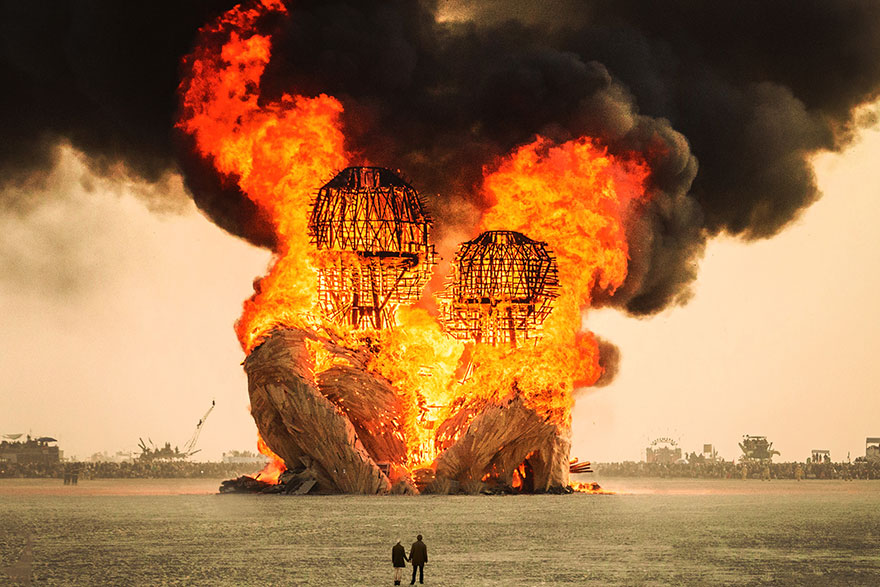 29 photos surréelles de Burning Man