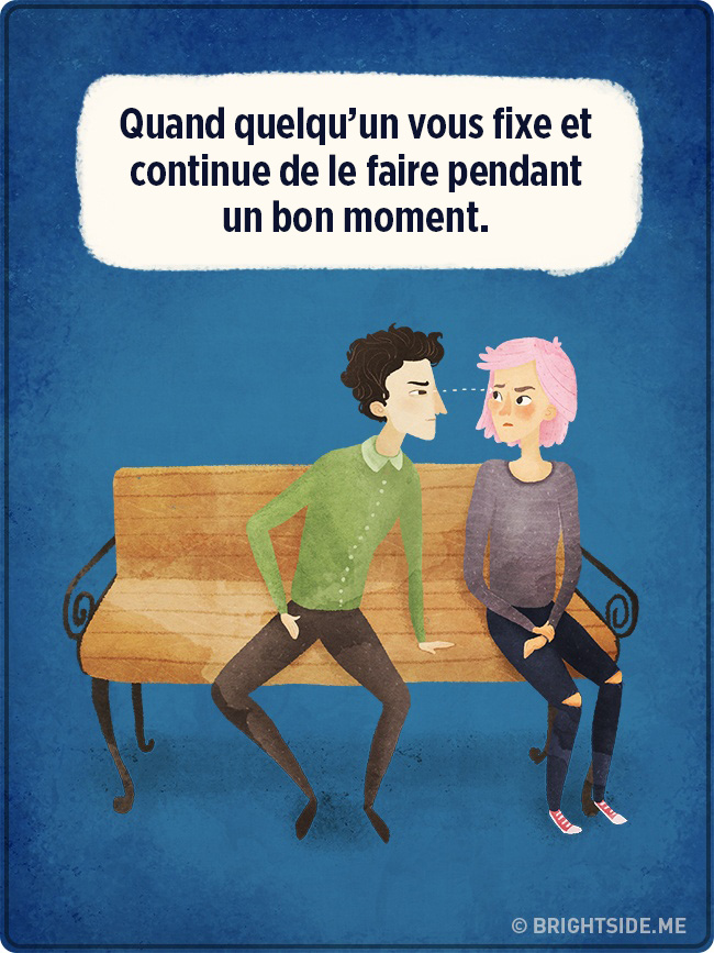 11 choses les plus irritantes au monde
