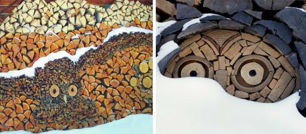 20 personnes qui ont transformé des cordes de bois en oeuvres d'art