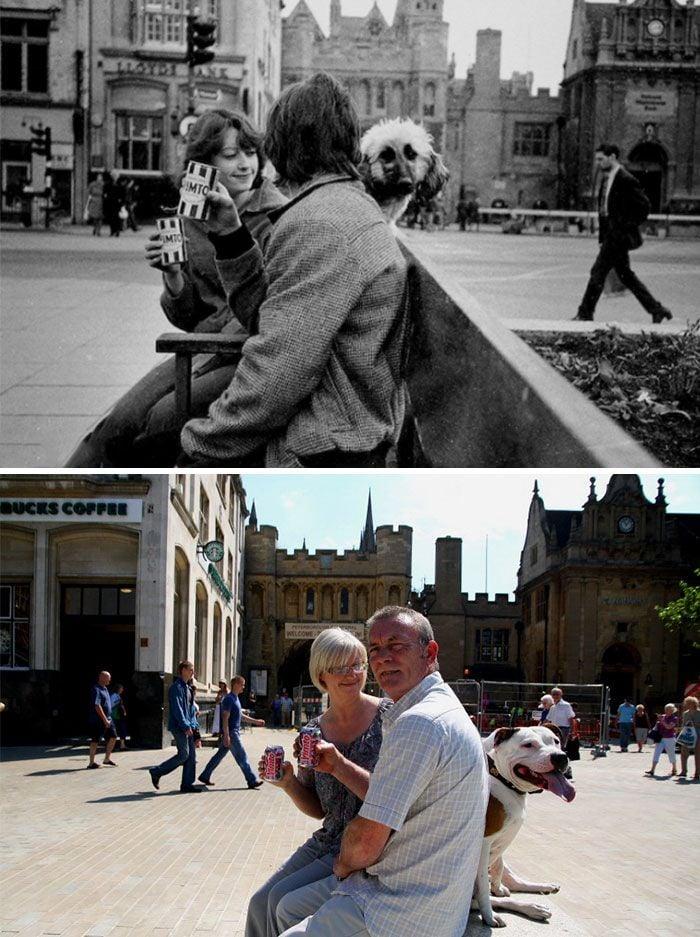 Ce photographe a retrouvé les gens qu'il a photographiés il y a plus de 30 ans pour recréer leurs photos