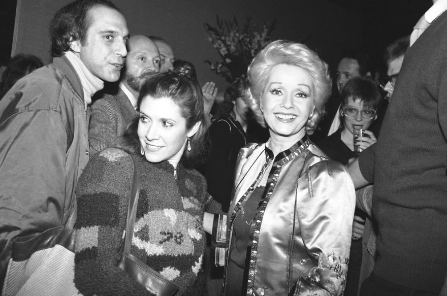31 photos d'époque de Carrie Fisher et Debbie Reynolds vieillissant ensemble