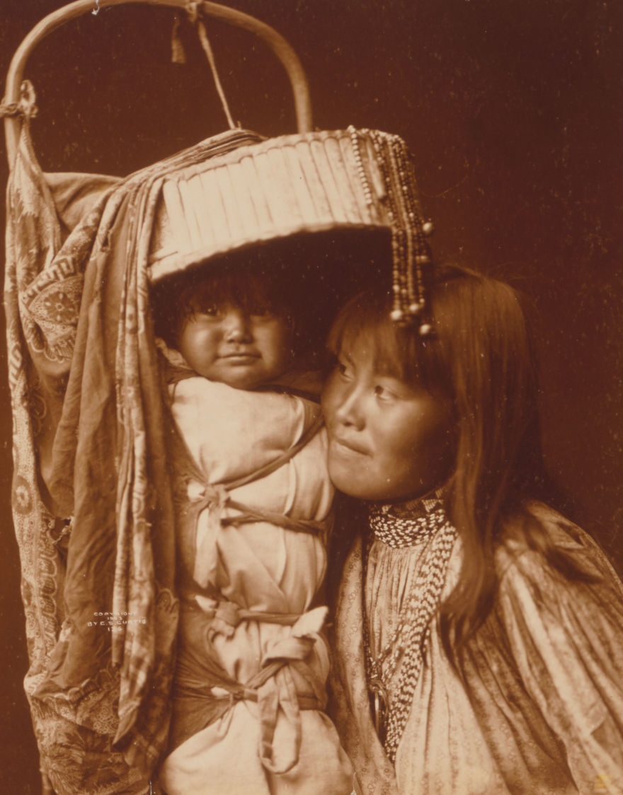 De rares photos des années 1900 montrent comment vivaient les Amérindiens il y a 100 ans