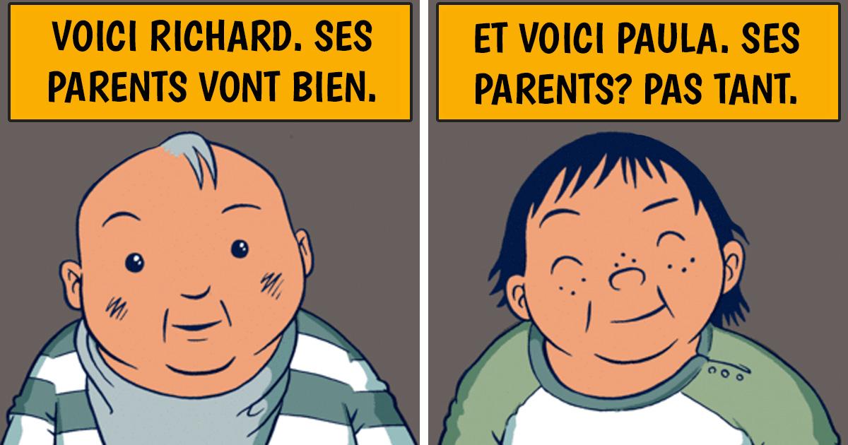 Cette bande dessinée explique parfaitement le privilège, et tout le monde doit la lire