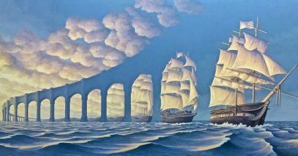 25 peintures hallucinantes qui tordront votre perception