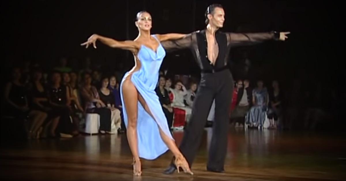 M me les juges n ont pu quitter sa robe des yeux ipnoze for Danse de salon 95