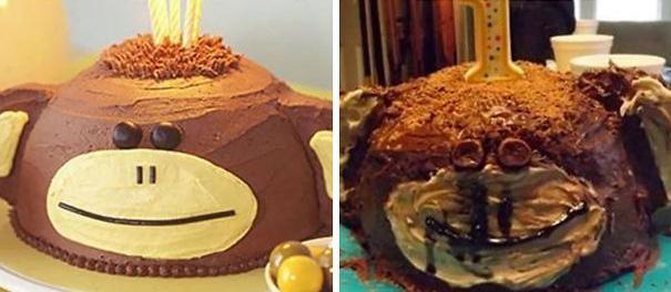 22 pires gâteaux de tous les temps