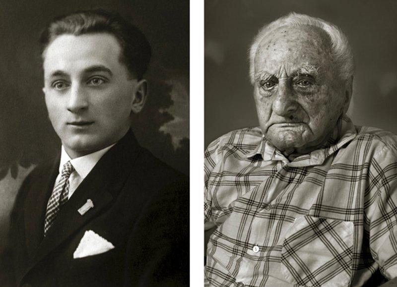 13 photos avant et après qui montrent des personnes en tant que jeunes adultes et à 100 ans