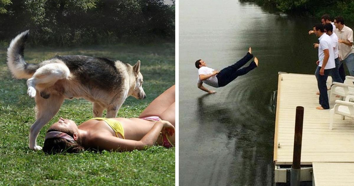 30 photos prises quelques secondes avant la catastrophe qui vont vous faire souffrir juste en les regardant