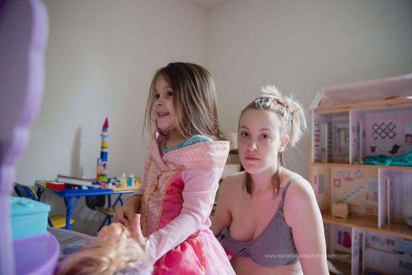 Une mère révèle ce à quoi la dépression post-partum ressemble réellement