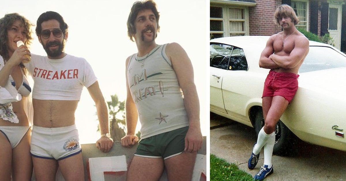 20 photos d'hommes en short dans les années 1970 montrent une mode oubliée qui rendait les hommes cool
