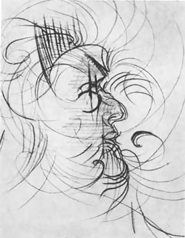 Un psychiatre demande à un artiste de prendre du LSD et dessiner le même portrait 9 fois et les résultats sont de plus en plus fous