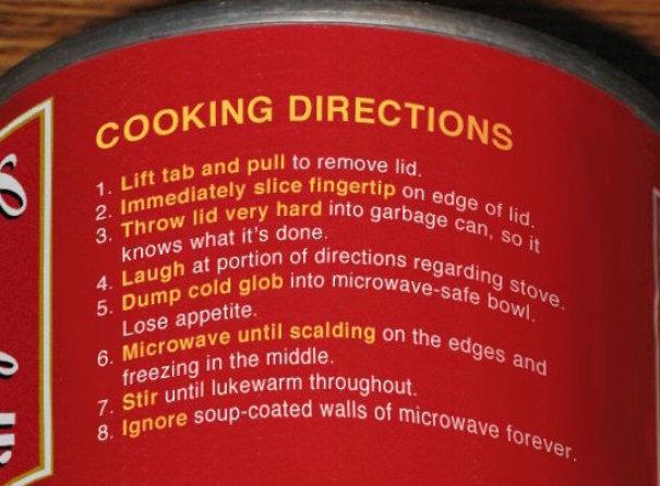 20 instructions de produits les plus hilarantes de tous les temps