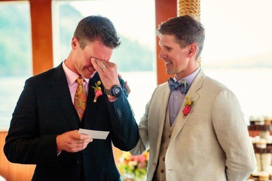30 photos émouvantes de mariages entre personnes de même sexe qui vont te donner des papillons dans le ventre
