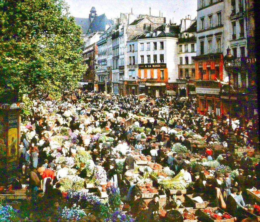 22 vieilles photos couleur qui montrent à quoi ressemblait le monde il y a 100 ans