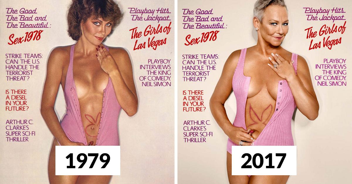 7 playmates de Playboy reproduisent leurs couvertures de magazine environ 30 ans plus tard