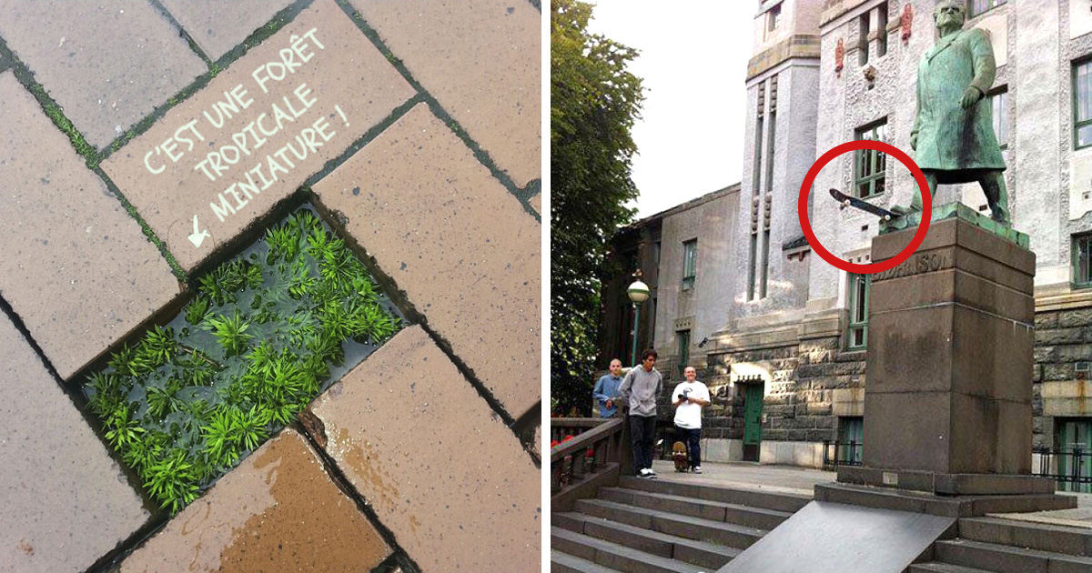 30 actes aléatoires de vandalisme génial