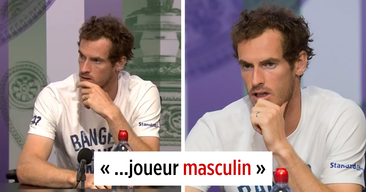 Andy Murray interrompt la question sexiste d'un journaliste, et son entrevue devient virale