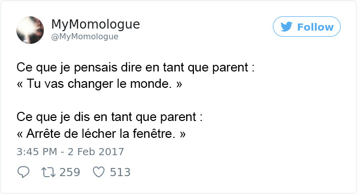 15 tweets hilarants par des parents au sujet des enfants