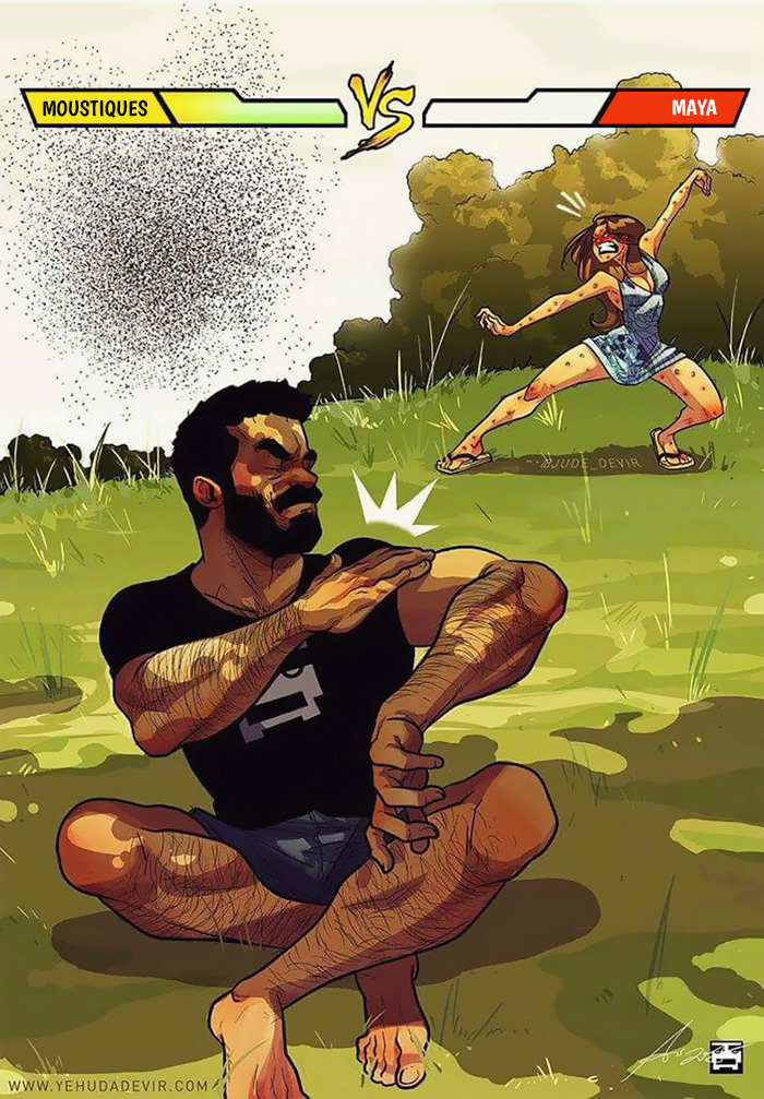 Un artiste crée des bandes dessinées sur sa vie quotidienne avec sa femme (21 nouvelles images)