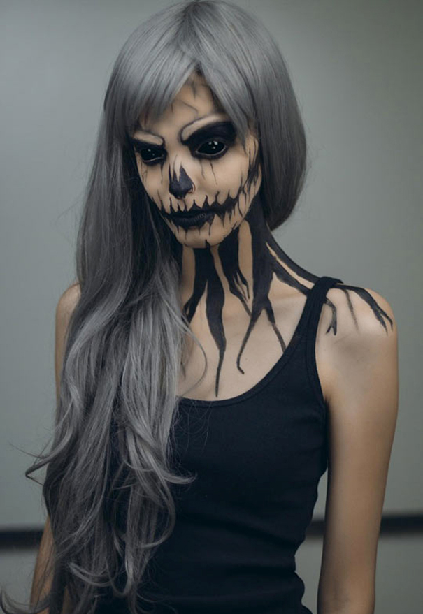 40 maquillages d'Halloween à glacer le sang