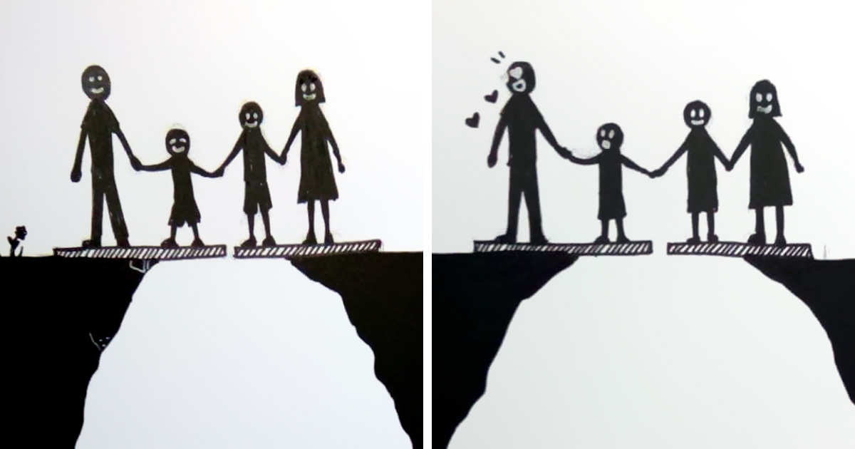 La séparation résumée en 7 images