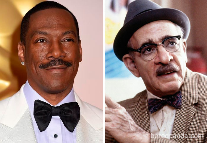 30 photos incroyables d'acteurs avant et après l'application du maquillage pour des films