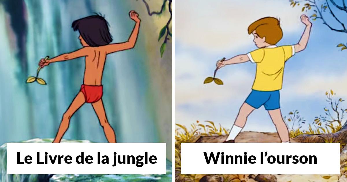 11 fois où Disney a «triché» en utilisant les mêmes animations dans différents dessins animés
