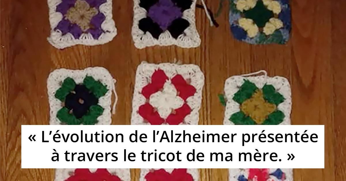 Une femme révèle ce que l'Alzheimer a fait à sa mère sur une période de 2 ans, et ses dernières créations vont vous briser le coeur