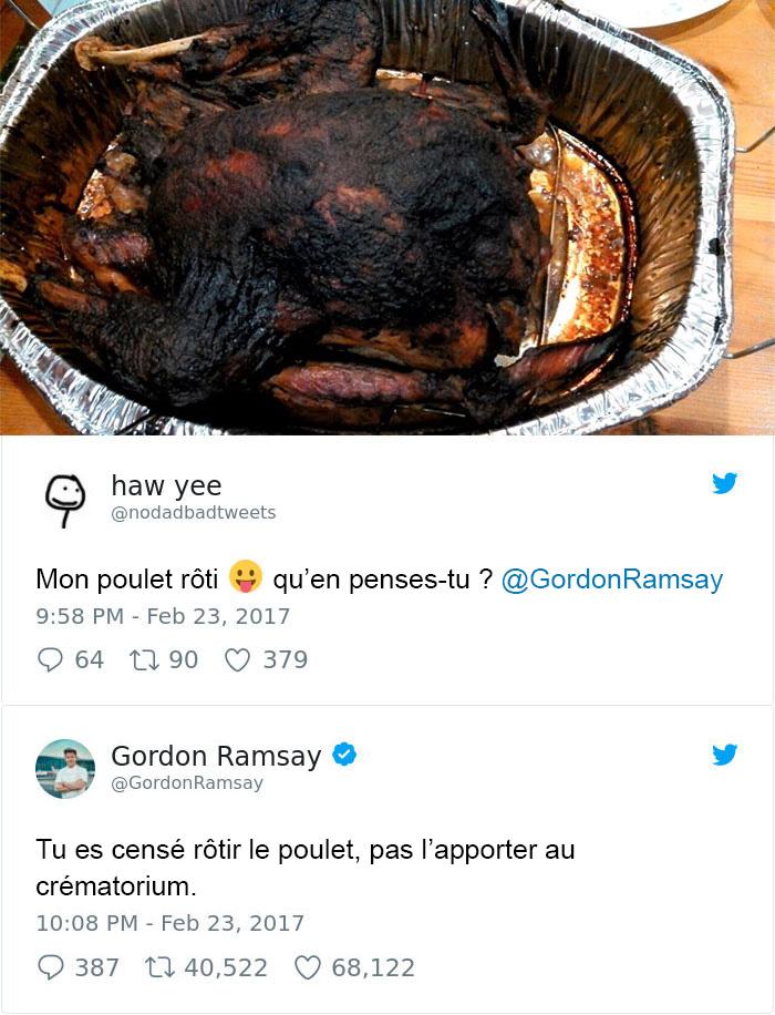 18 fois où des cuisiniers amateurs ont montré leurs merveilles culinaires à Gordon Ramsay et l'ont instantanément regretté