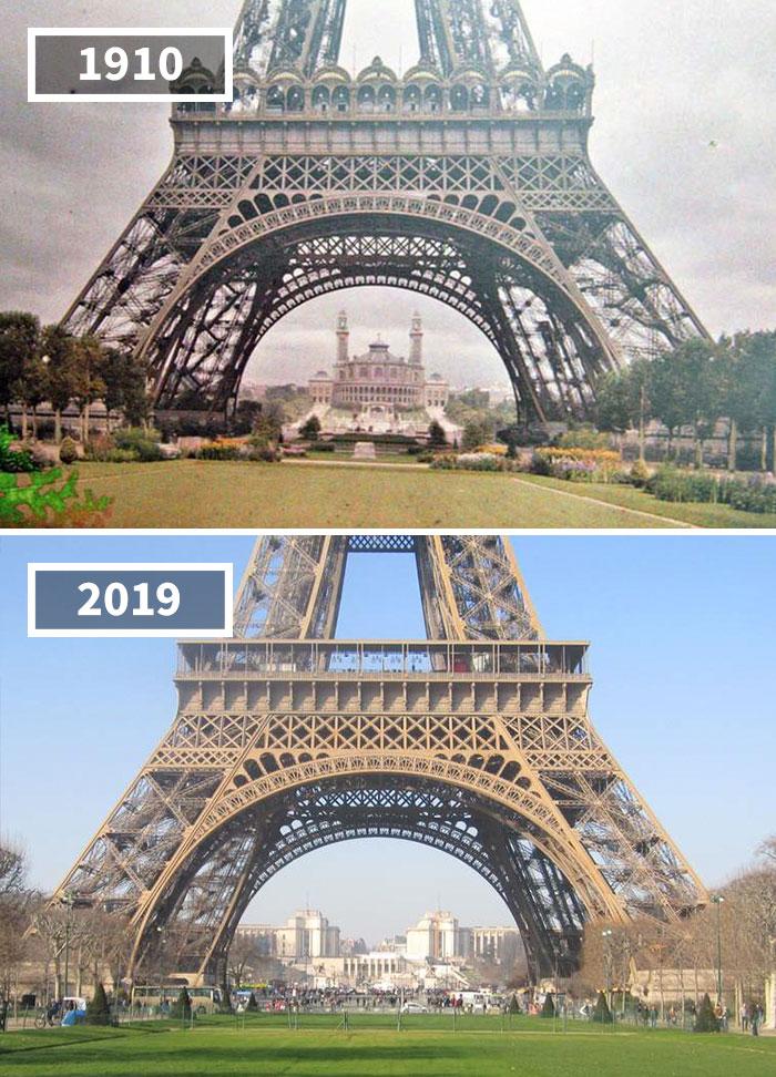 20 photos avant et après qui montrent à quel point le monde a changé au fil du temps