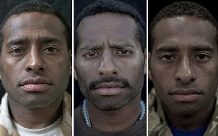 14 soldats photographiés avant et après la guerre
