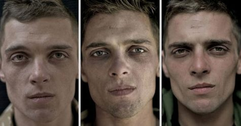 10 inconnus qui ont été photographiés avant et après avoir été embrassés par la photographe