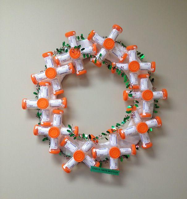 21 décorations de Noël dans les hôpitaux qui prouvent que le personnel médical est drôlement créatif