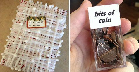 Ce père a enveloppé de minuscules cadeaux de Noël pour les écureuils et Internet est en délire