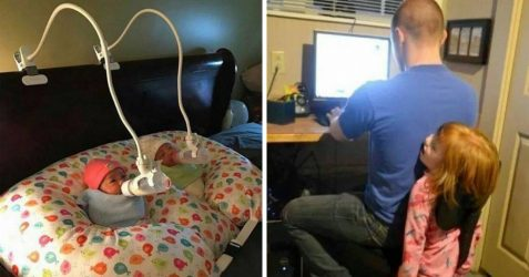 16 parents avec un excellent sens de l'humour