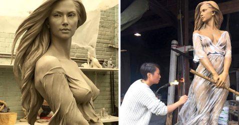 Une artiste s'inspire de l'art de la Renaissance pour créer des sculptures de femmes qui révèlent la beauté du corps féminin