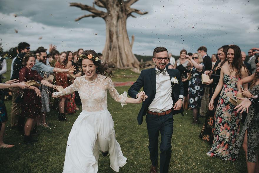 Les meilleures photos de mariage de l'année viennent d'être annoncées, et elles sont réellement stupéfiantes
