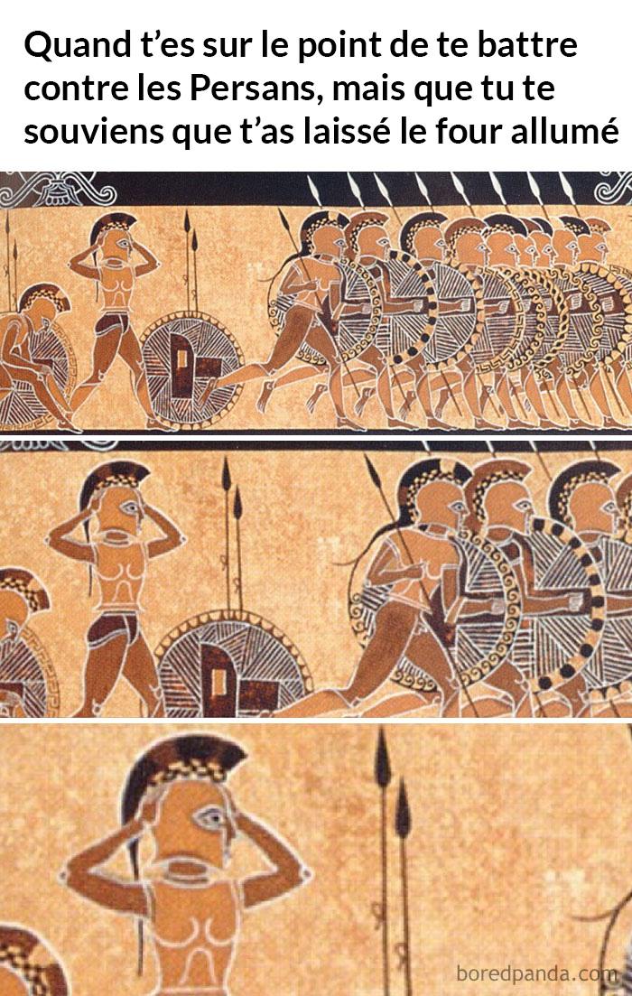 20 blagues sur l'art historique qui prouvent que rien n'a changé depuis les 100 dernières années