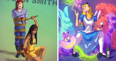 Cette artiste rend «normaux» des personnages de dessins animés et déclenche un débat