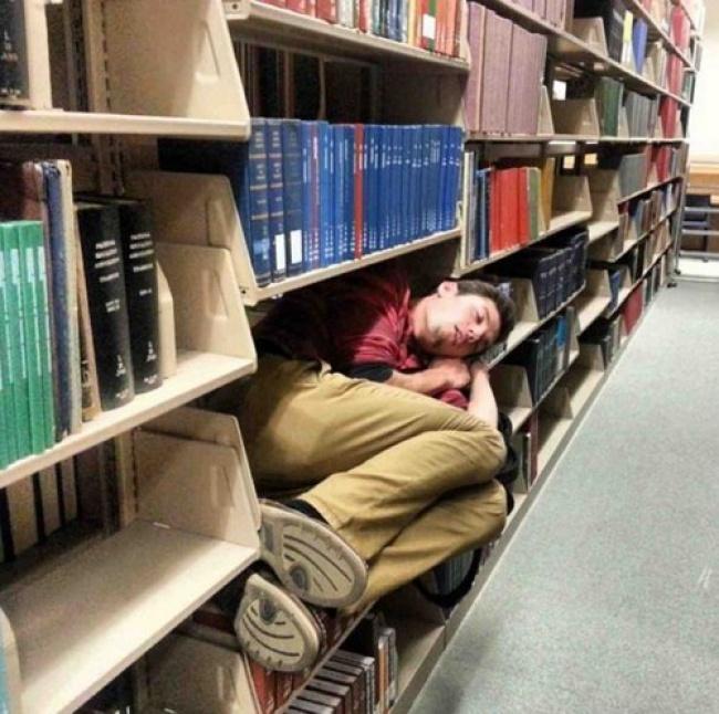 Voici 26 fois où des gens se sont fait prendre à dormir dans les endroits les plus inusités, et c'était à mourir de rire