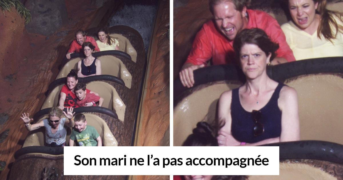 30 photos de montagnes russes qui vont te faire rire