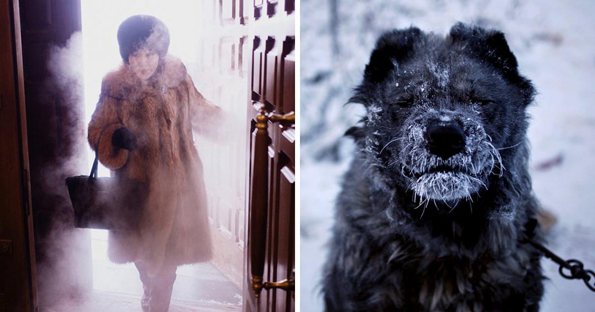 Un photographe voyage de Yakutsk à Oymyakon, le village le plus froid du monde
