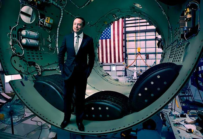 Quelqu'un a attaqué Elon Musk pour avoir dépensé 90 M$ pour le lancement d'une voiture dans l'espace, mais il s'est fait brillamment clouer le bec